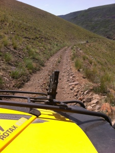 Rugged trail