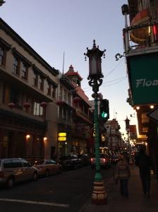 Lantern in China town.