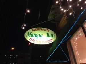 """Mangia"" = Let's Eat!"